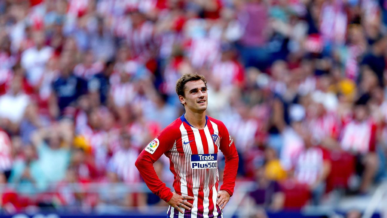 Antoine Griezmann had an afternoon to forget as Atletico Madrid drew with Eibar.