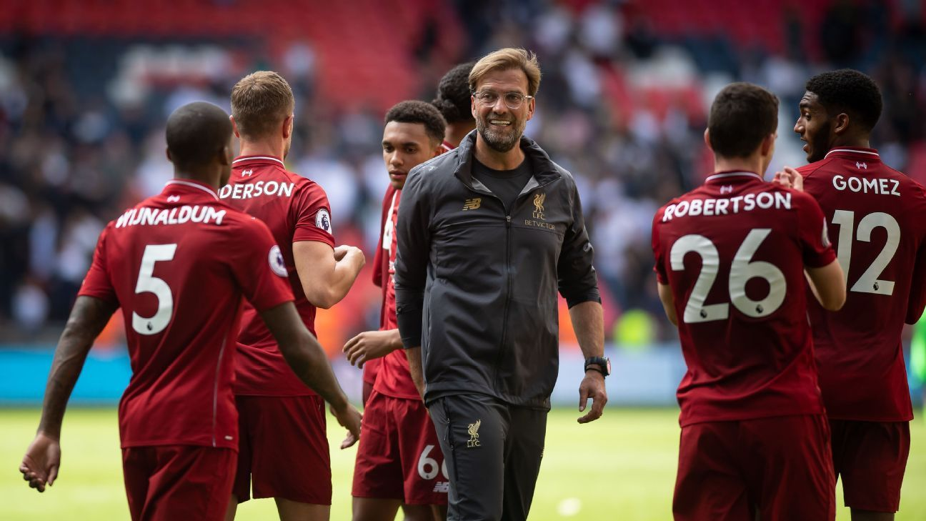 Klopp and Liverpool have come a long way since losing 4-1 to Tottenham last October. Spurs, meanwhile, have not.