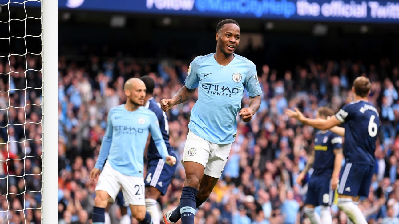Raheem Sterling's all-round game was on display for all to see in Man City's 3-0 rout of Fulham.