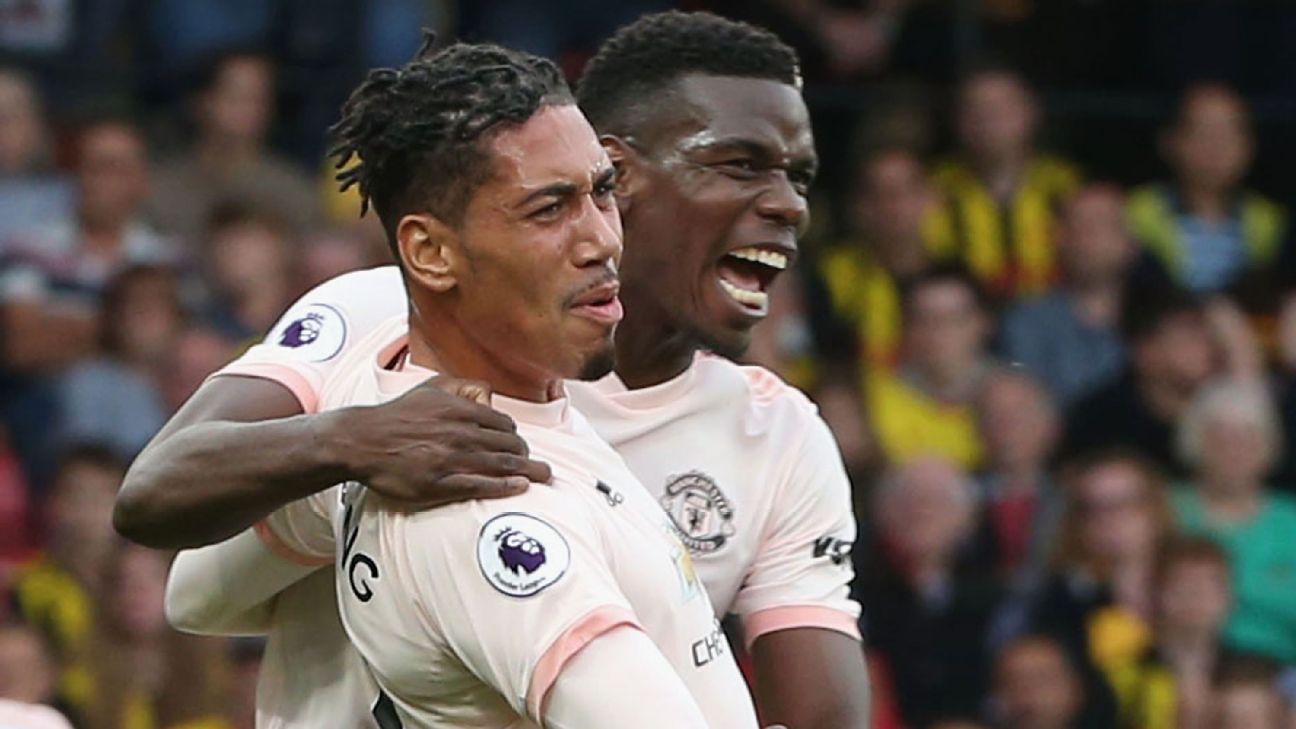 Chris Smalling's stunning goal was far from his only contribution to Man United's 2-1 win at Watford.