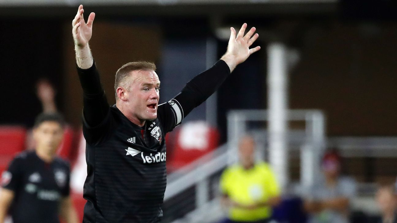 Wayne Rooney says D.C. United 'thriving' on pressure of playoff chase
