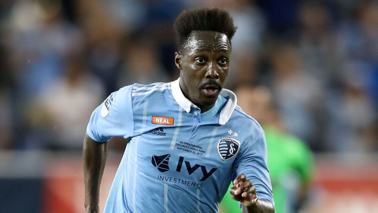 Gerso Fernandes scored two and set up two in Sporting Kansas City's rout of San Jose Earthquakes.
