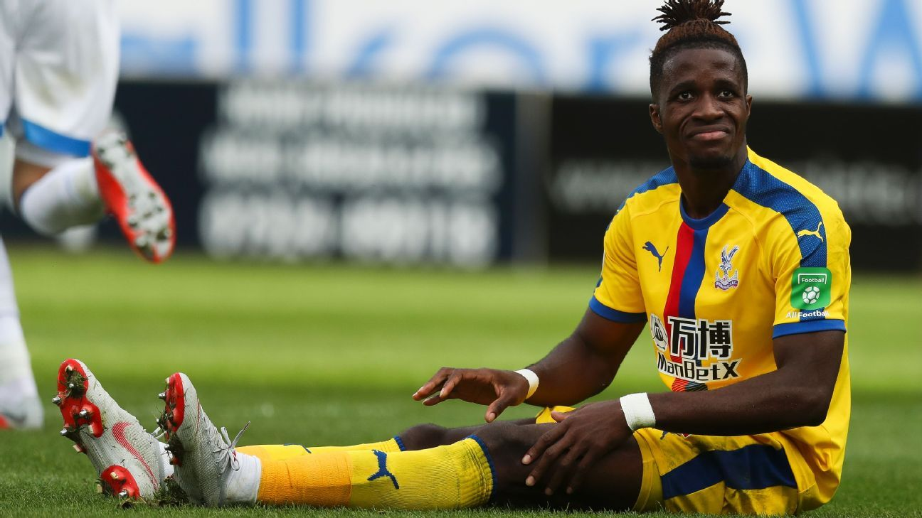 Crystal Palace's Wilfried Zaha.