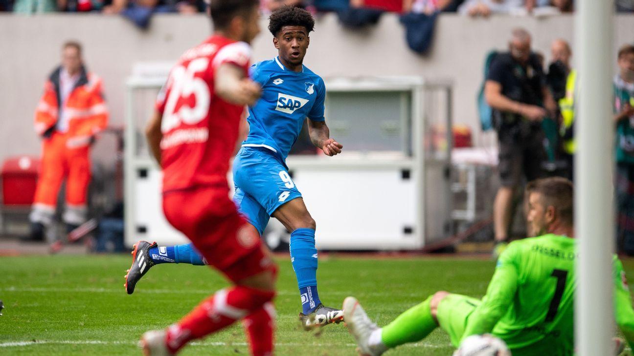 Hoffenheim's Reiss Nelson