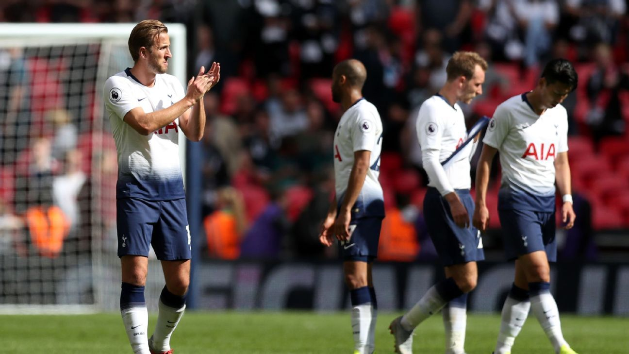 After starting the season with three consecutive wins, Tottenham slipped to their second straight Premier League defeat.