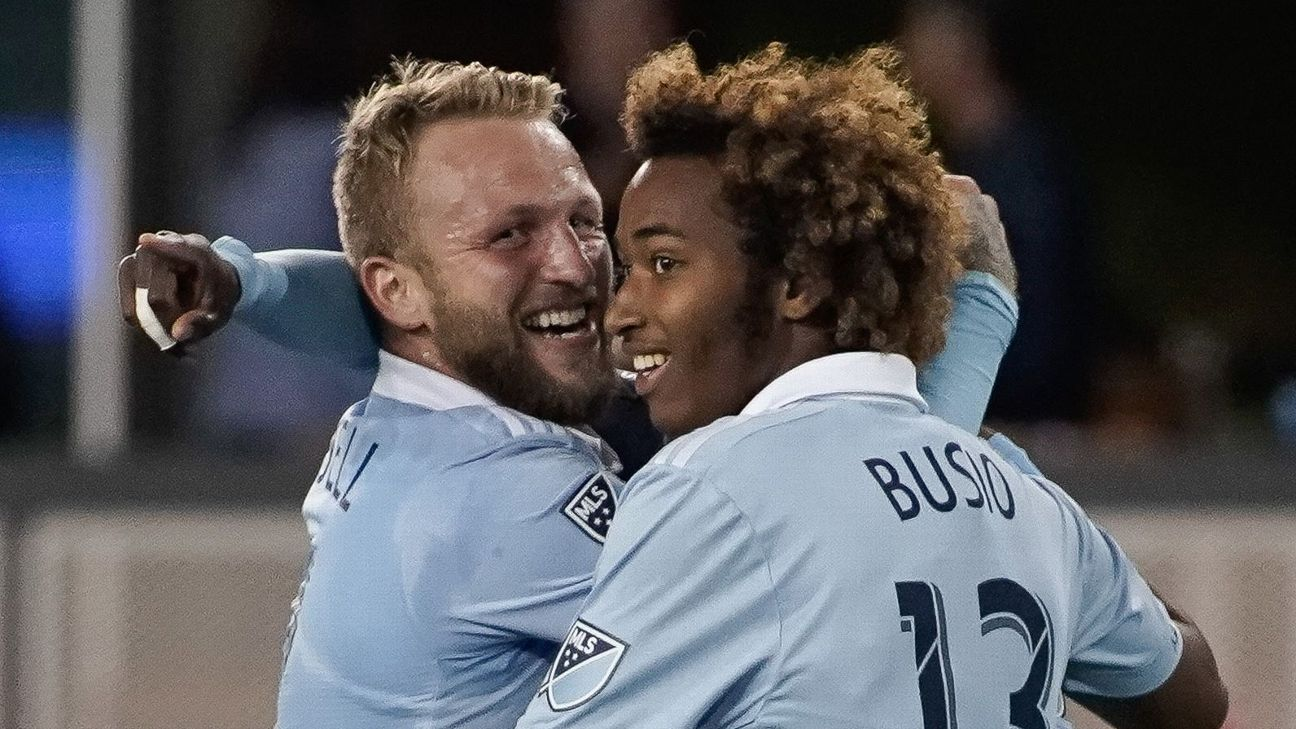 MLS Power Rankings: Sporting Kansas City jump up the table, Seattle Sounders stay hot