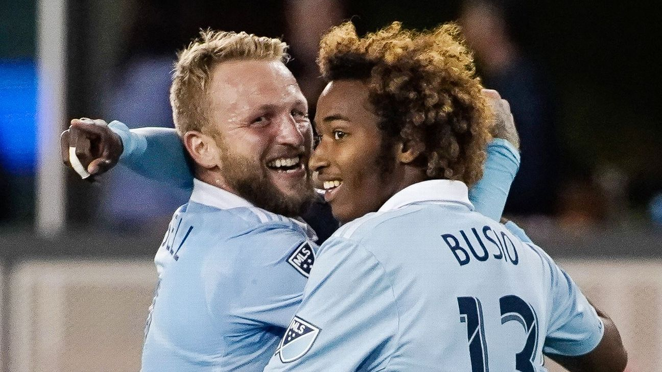 Johnny Russell & Gianluca Busio