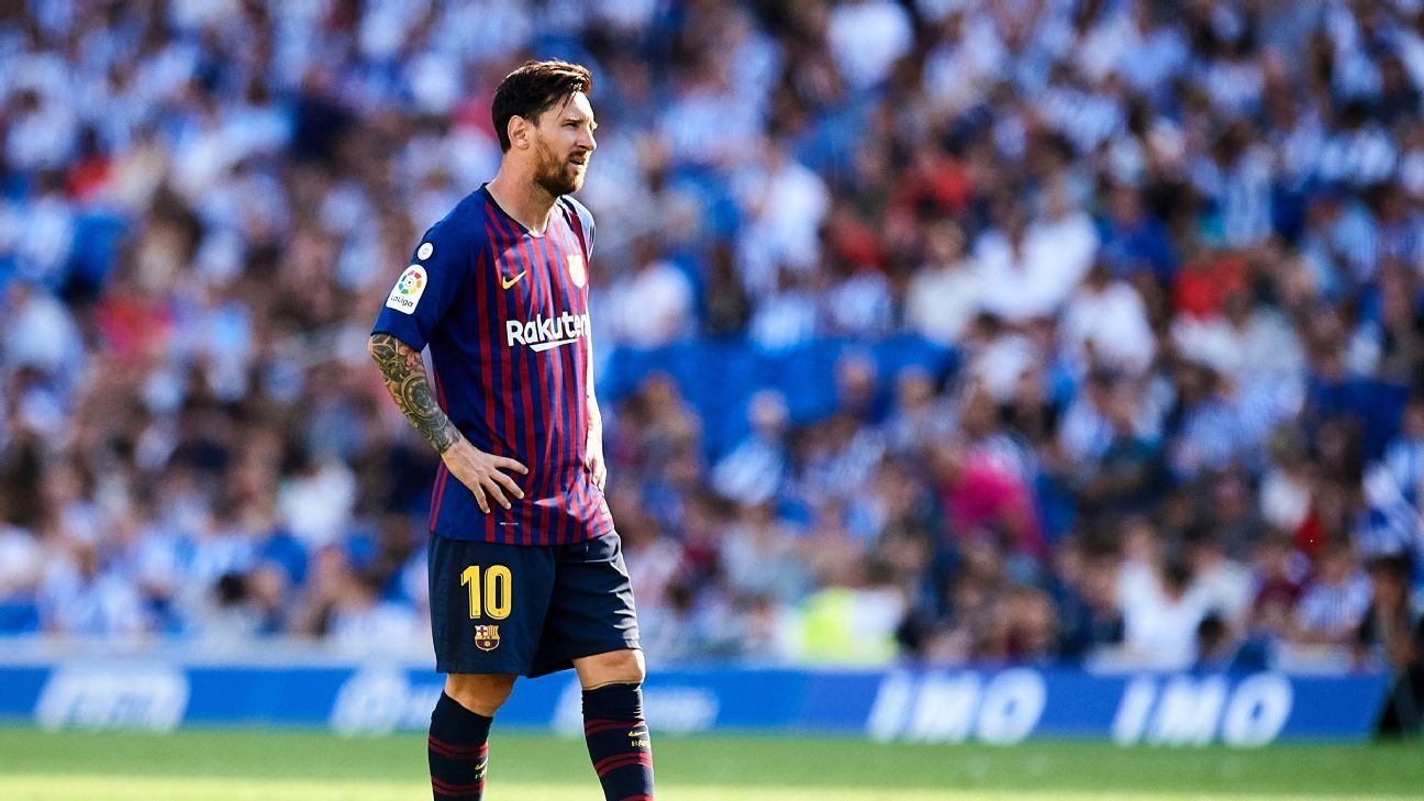 Barcelona's Lionel Messi has made no secret that the Champions League is his priority this season.