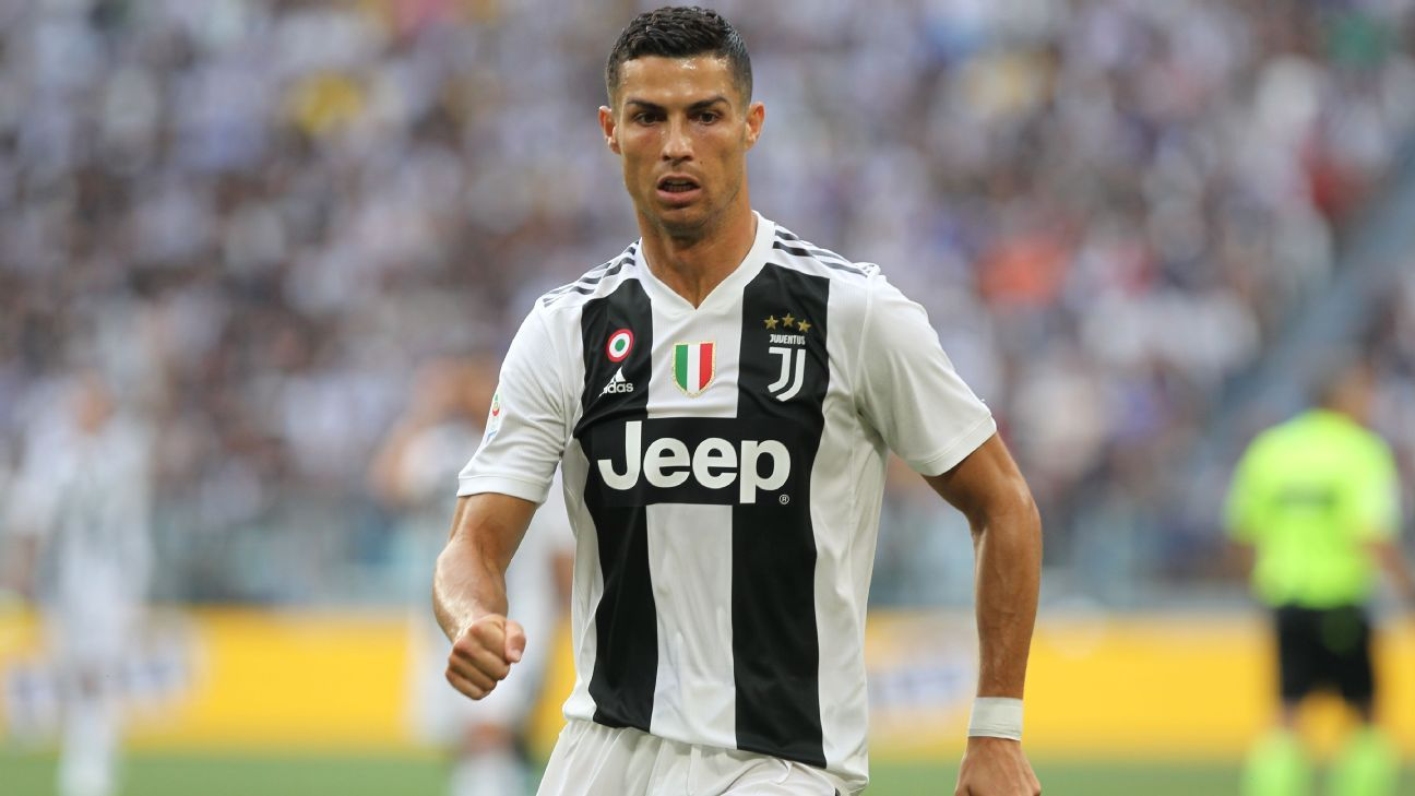 Cristiano Ronaldo joined Juventus from Real Madrid this summer.