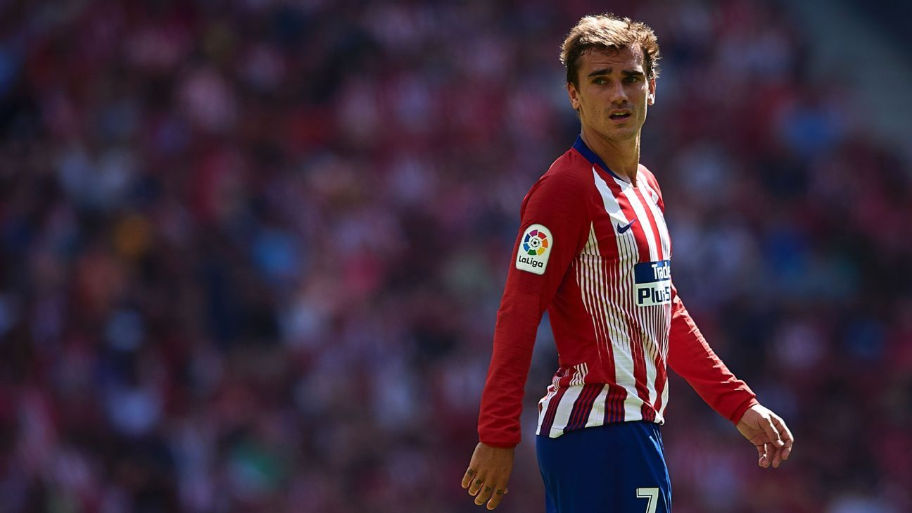 Antoine Griezmann wants to win the Champions League with Atletico Madrid.