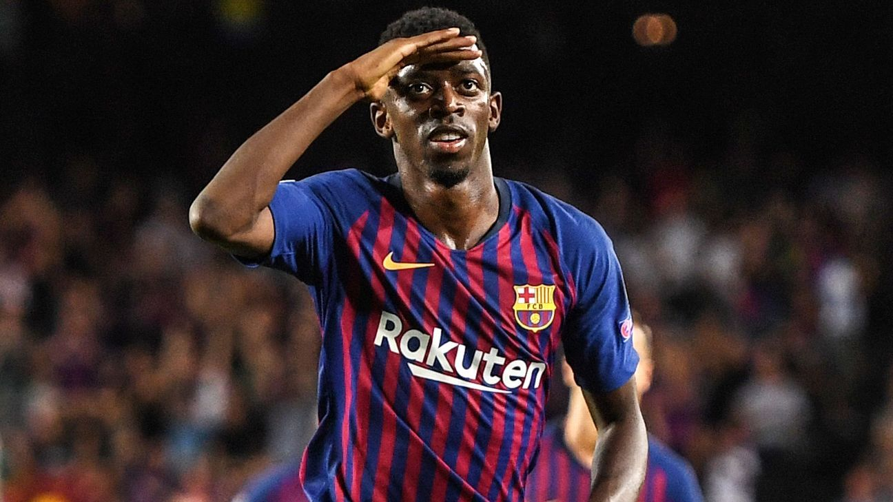 Barcelona's Ousmane Dembele must focus on being more professional - Rivaldo