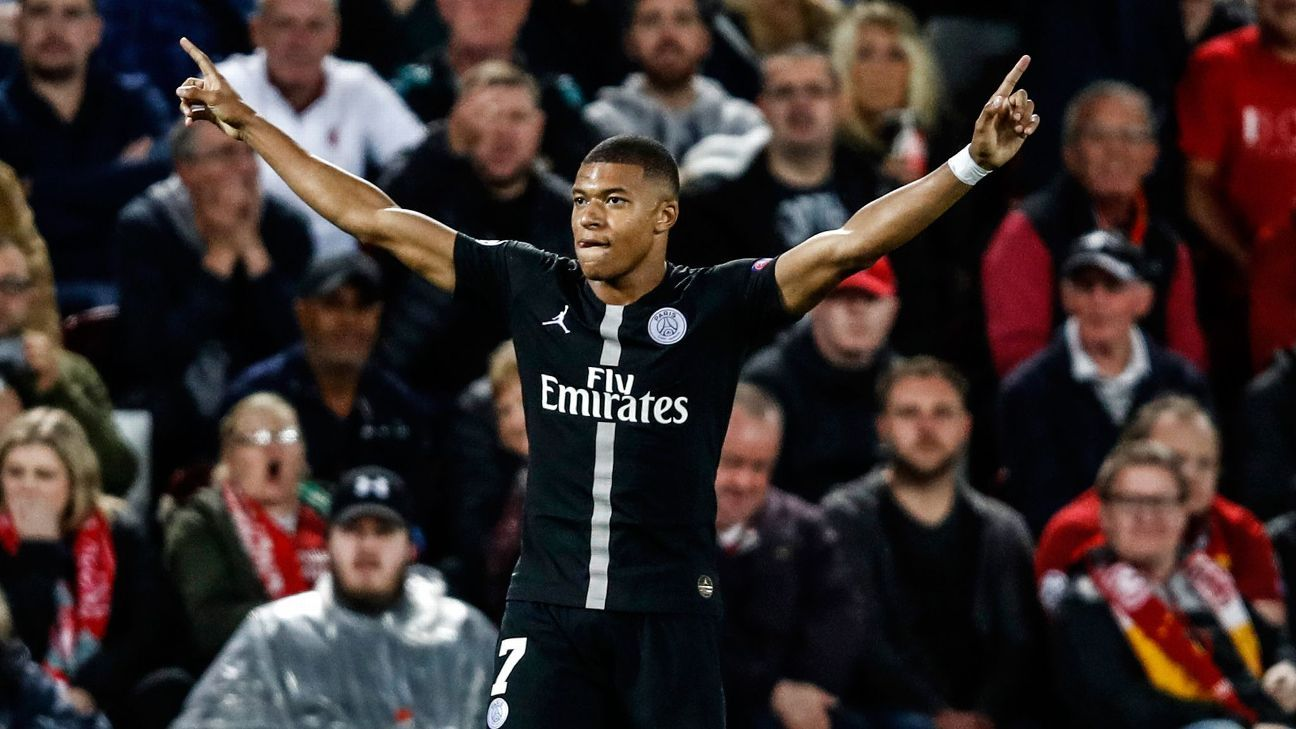 Mbappe pulled PSG level at Anfield with a well-taken goal but it wouldn't last long thanks to Firmino's late heroics for the hosts.