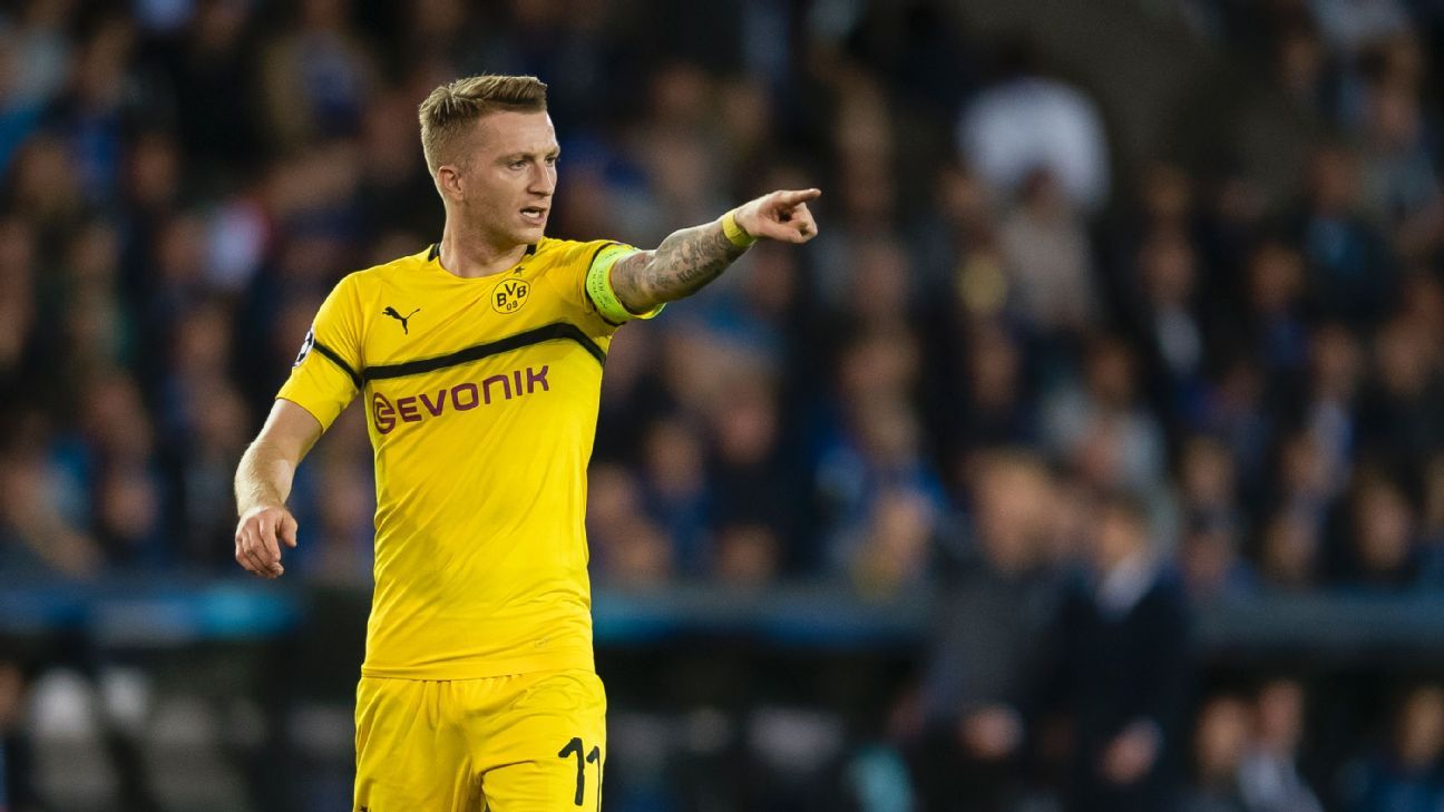 Marco Reus and Borussia Dortmund were left frustrated for much of the day against Club Brugge.