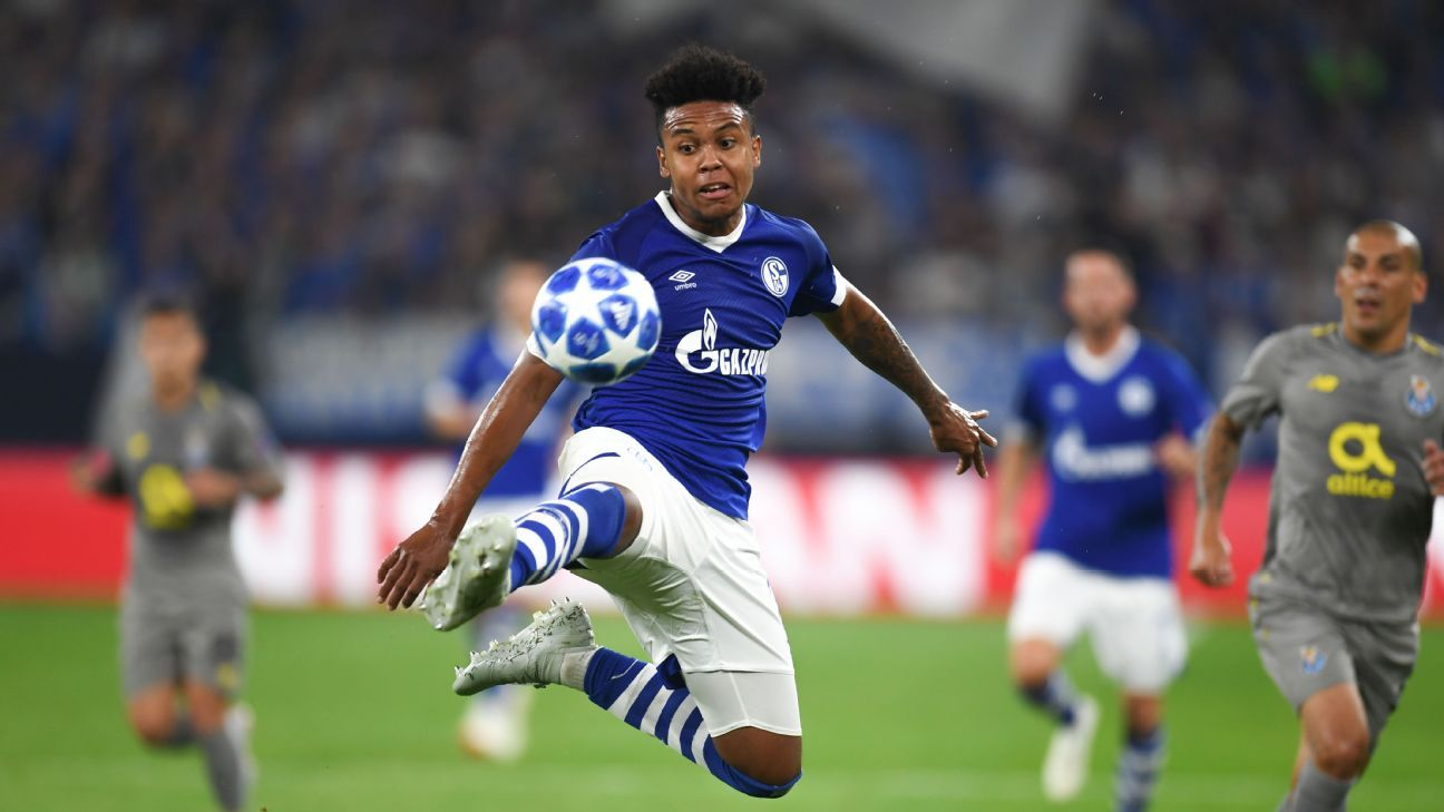 United States international West McKennie shined in his UCL debut, assisting Breel Embolo on Schalke's goal.