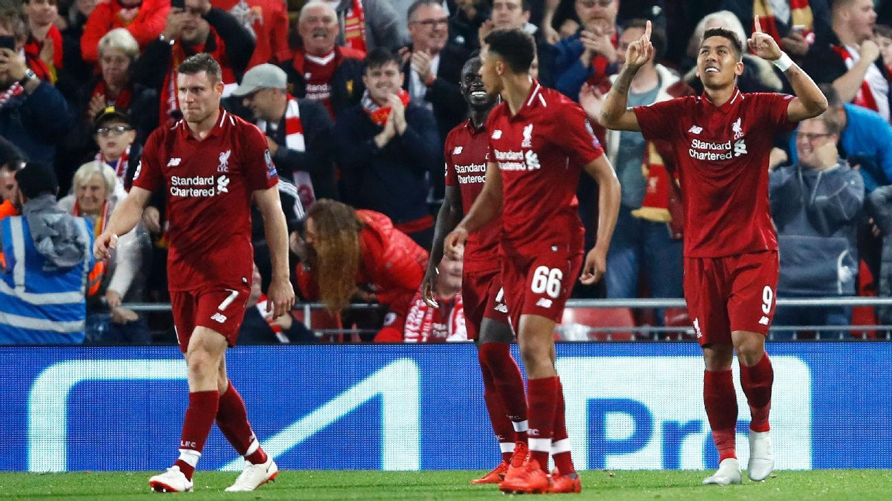 Firmino came off the bench to maximum effect, scoring in injury time to give Liverpool a big win over PSG.