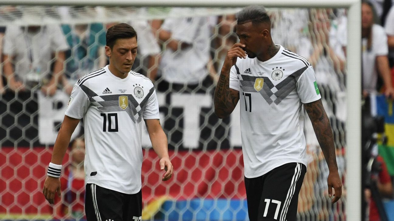Mesut Ozil and Jerome Boateng represented Germany at the 2018 World Cup.