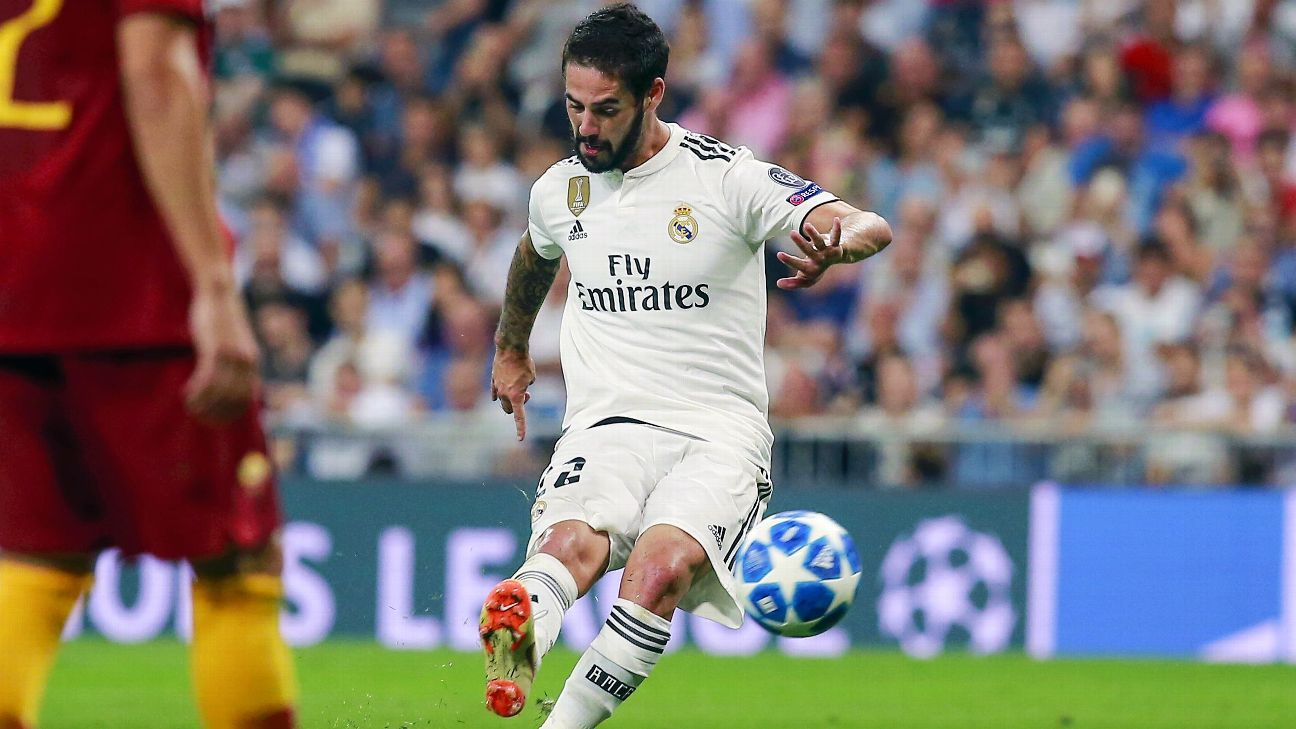 Isco is solidifying himself as a star under Julen Lopetegui but will be out a month after appendix surgery.