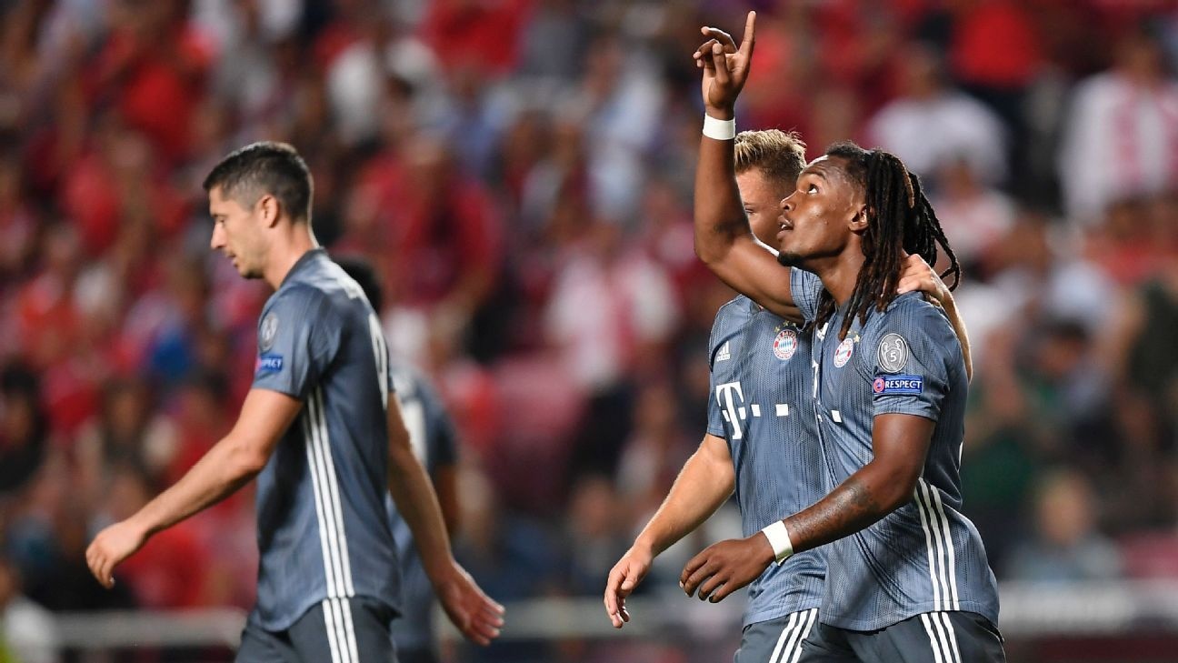 Renato Sanches got a rare start and made the most of it with a goal vs. former club Benfica.