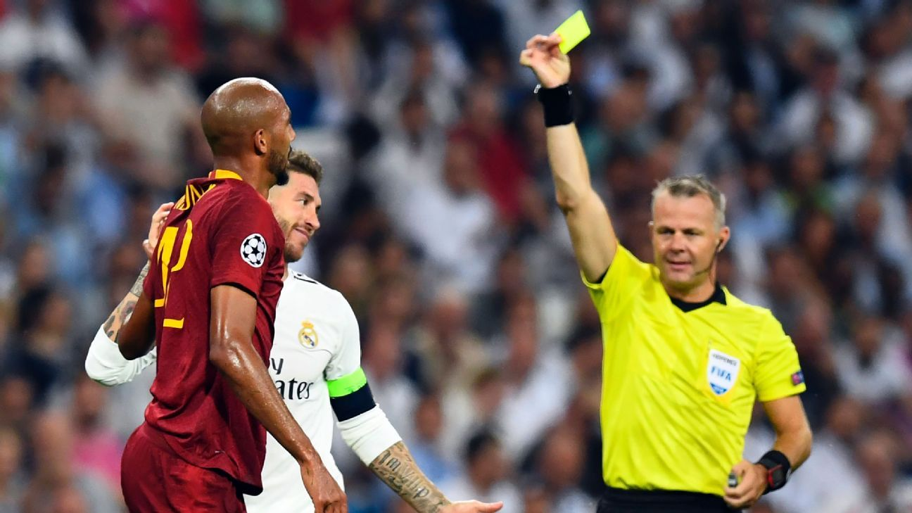 Sergio Ramos set a dubious Champions League record on Wednesday, becoming the most-cautioned player in competition history.