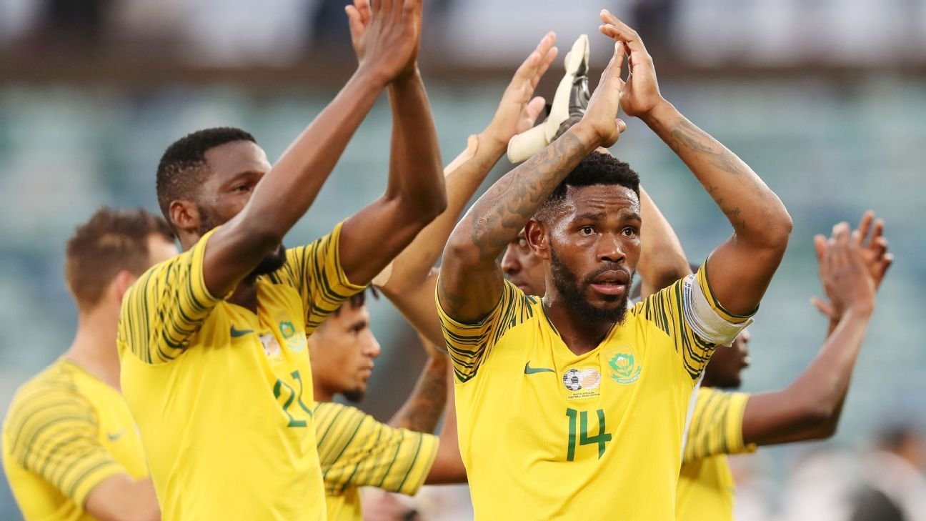 Bafana Bafana will back their chances of reaching the 2019 Nations Cup finals