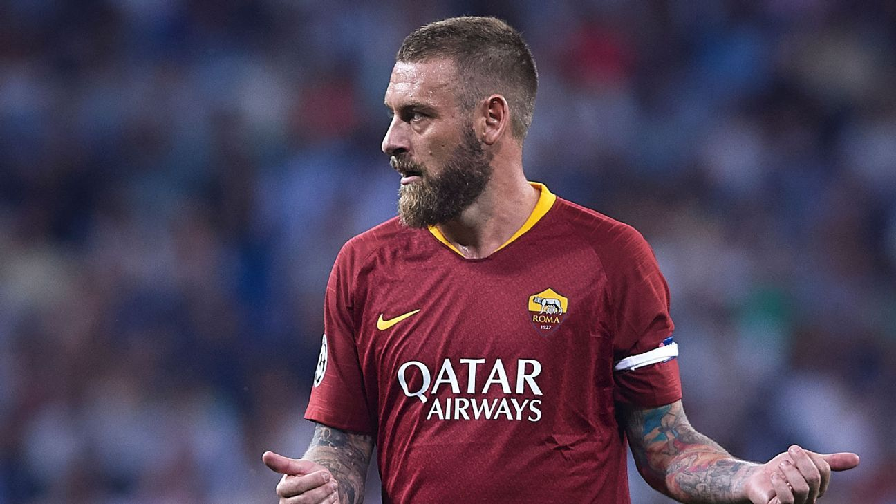 De Rossi has been at Roma for his entire career and said after losing to Real that he knows this team can do better.