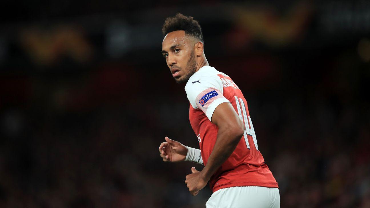 Arsenal's Pierre-Emerick Aubameyang