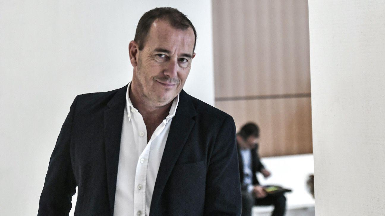 Former Nimes president Jean-Marc Conrad.