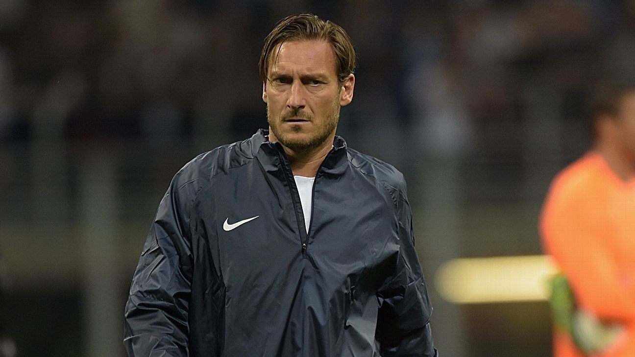 Francesco Totti retired from football in 2017