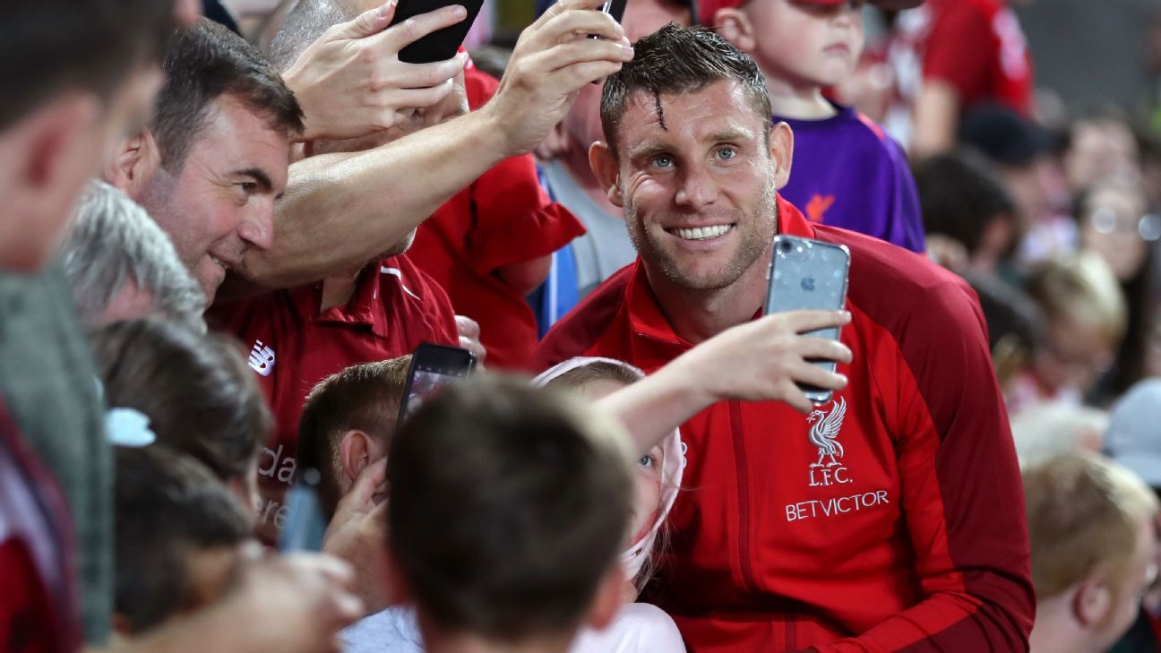 James Milner joined Liverpool in 2015 after five years at Manchester City, where he won two Premier League titles