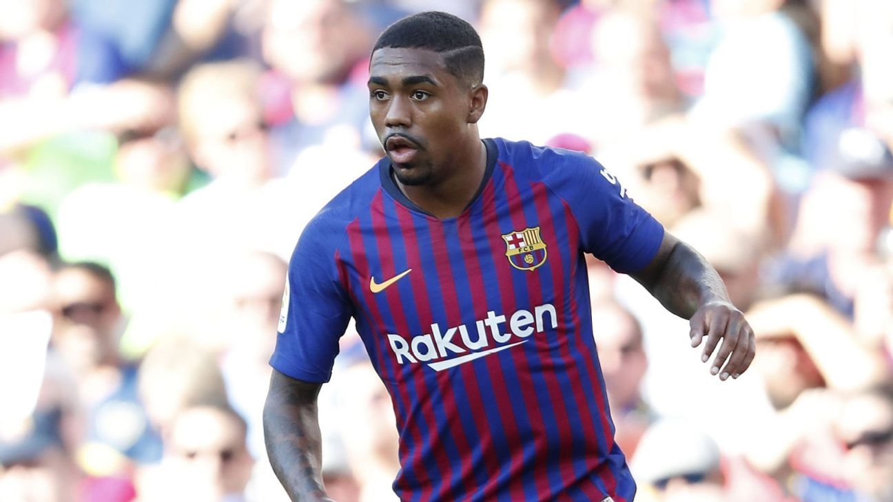 Malcom has earned his first Brazil call-up