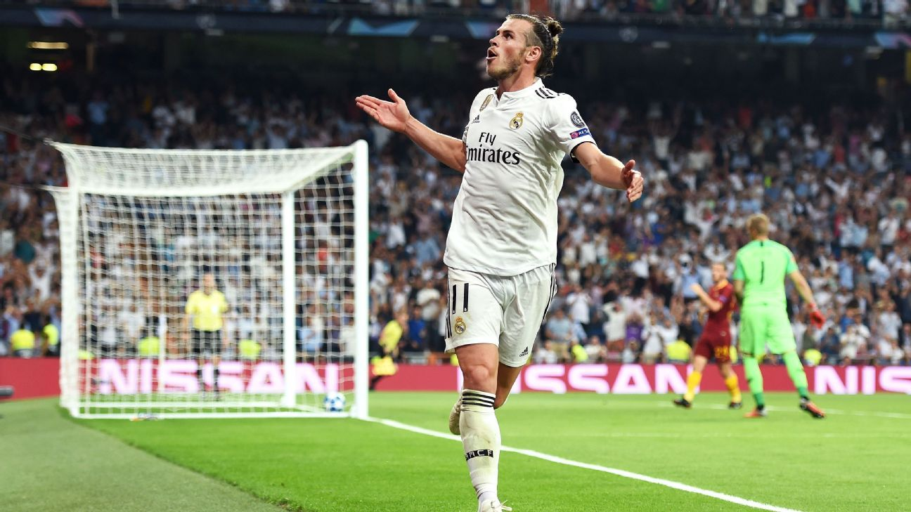 Bale's form in 2018 shows his satisfaction at finally getting the chance to lead Real Madrid forward.