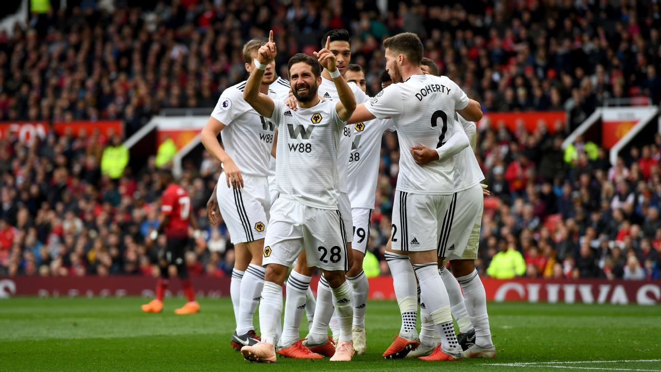 Joao Mourinho's equaliser earned Wolves a point at Manchester United