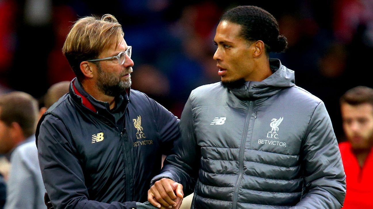 Jurgen Klopp and Virgil van Dijk both starred as Liverpool beat Southampton in the Premier League.