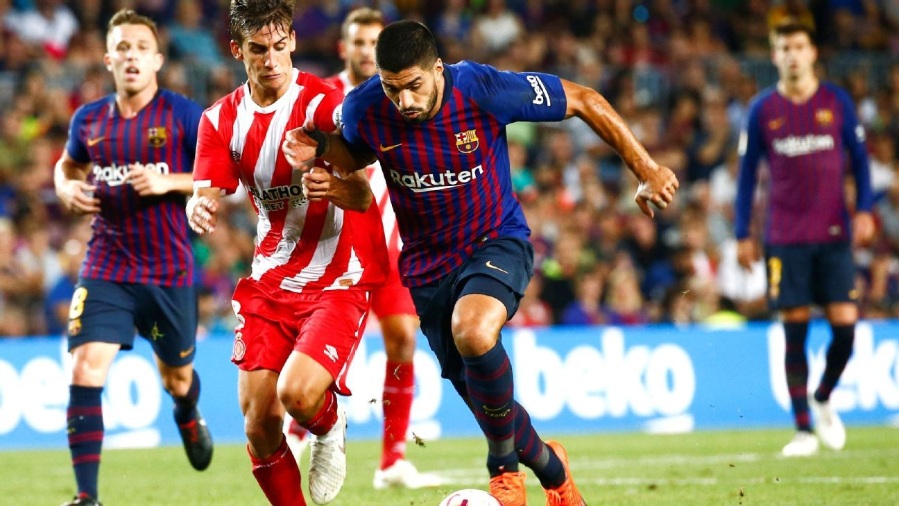 Barcelona and Girona played to a 2-2 draw on Sunday.