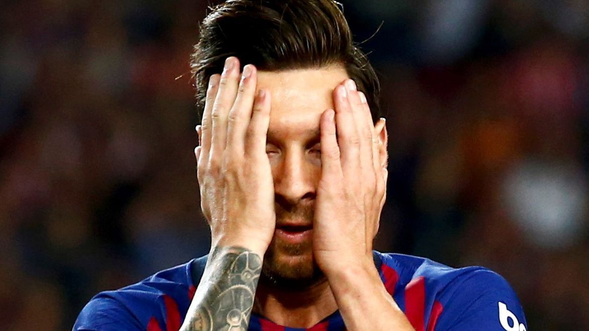 Lionel Messi scored on Sunday but Barcelona could only escape with a 2-2 draw against Girona.