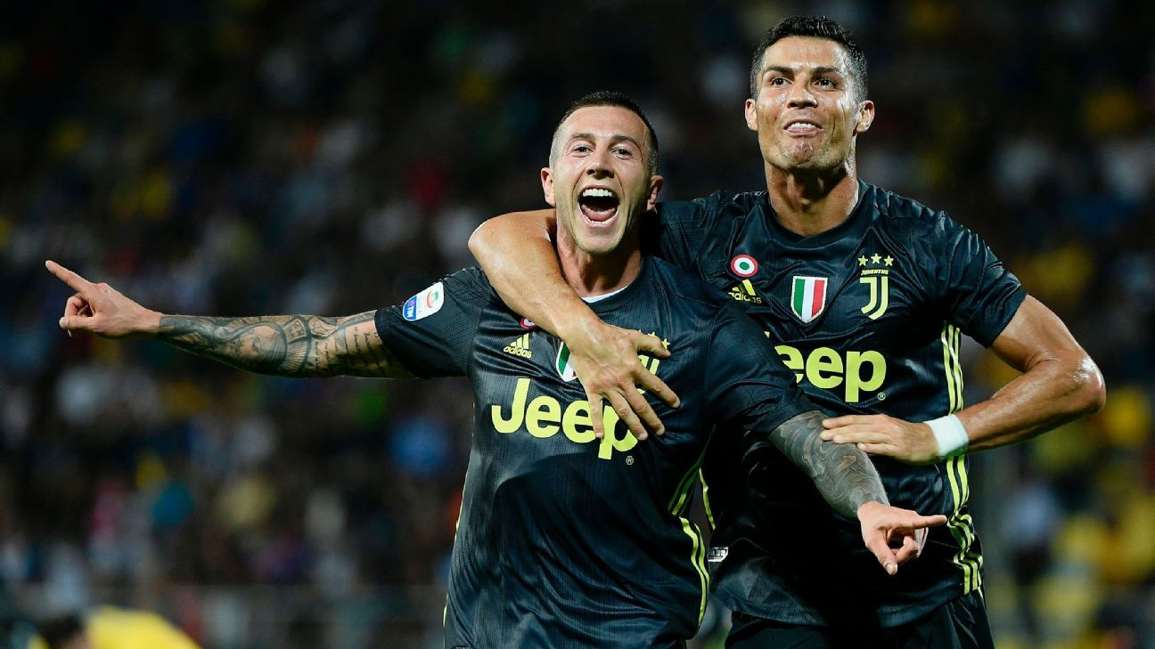 Federico Bernardeschi and Cristiano Ronaldo both scored well-deserved goals in Juventus' win over Frosinone on Sunday.