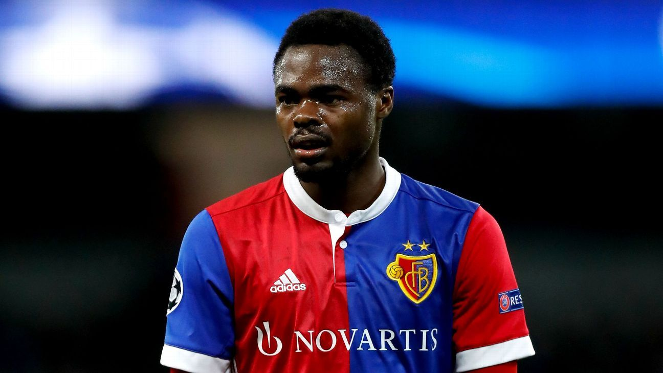 Dimitri Oberlin of FC Basel
