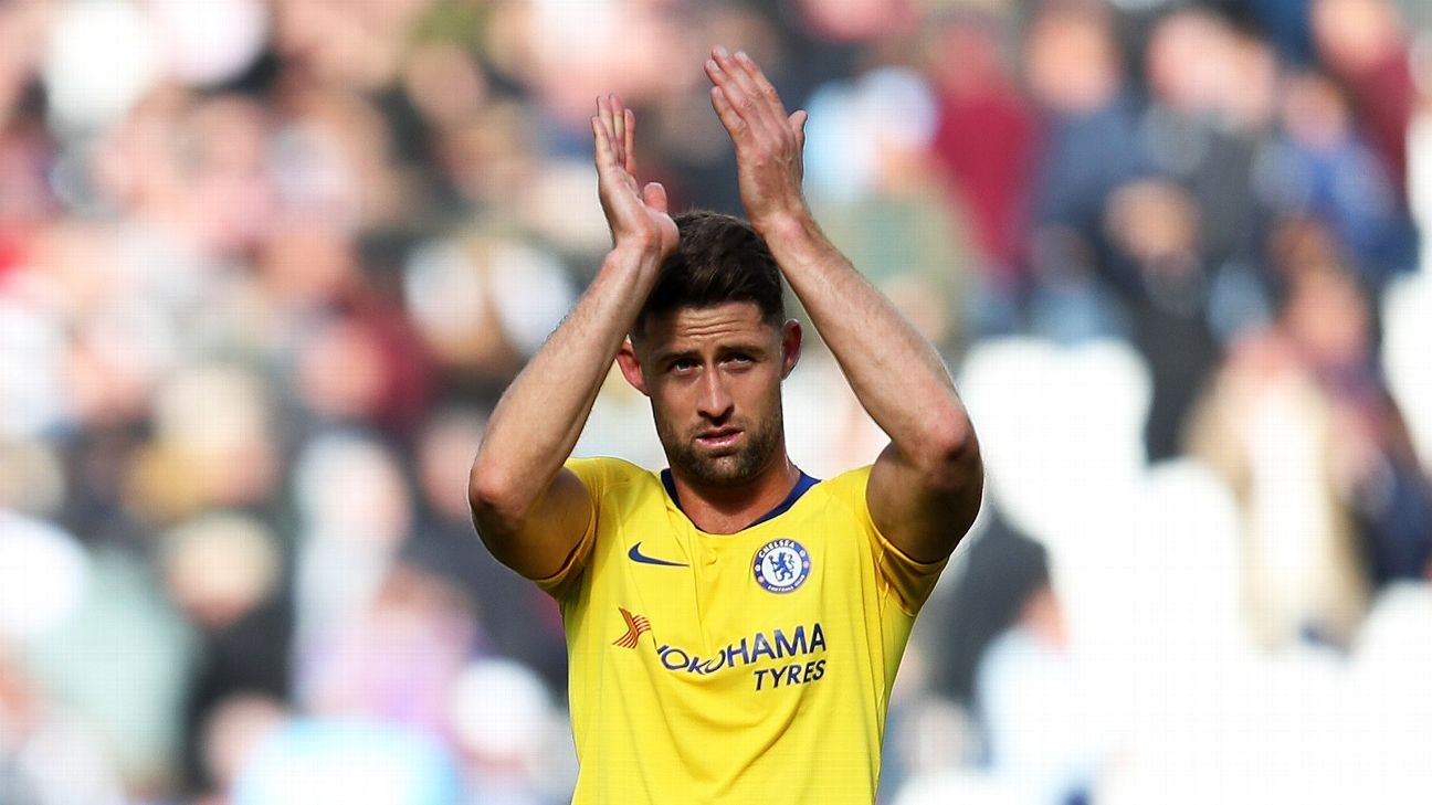 Gary Cahill's first appearance for Chelsea this season came at West Ham.