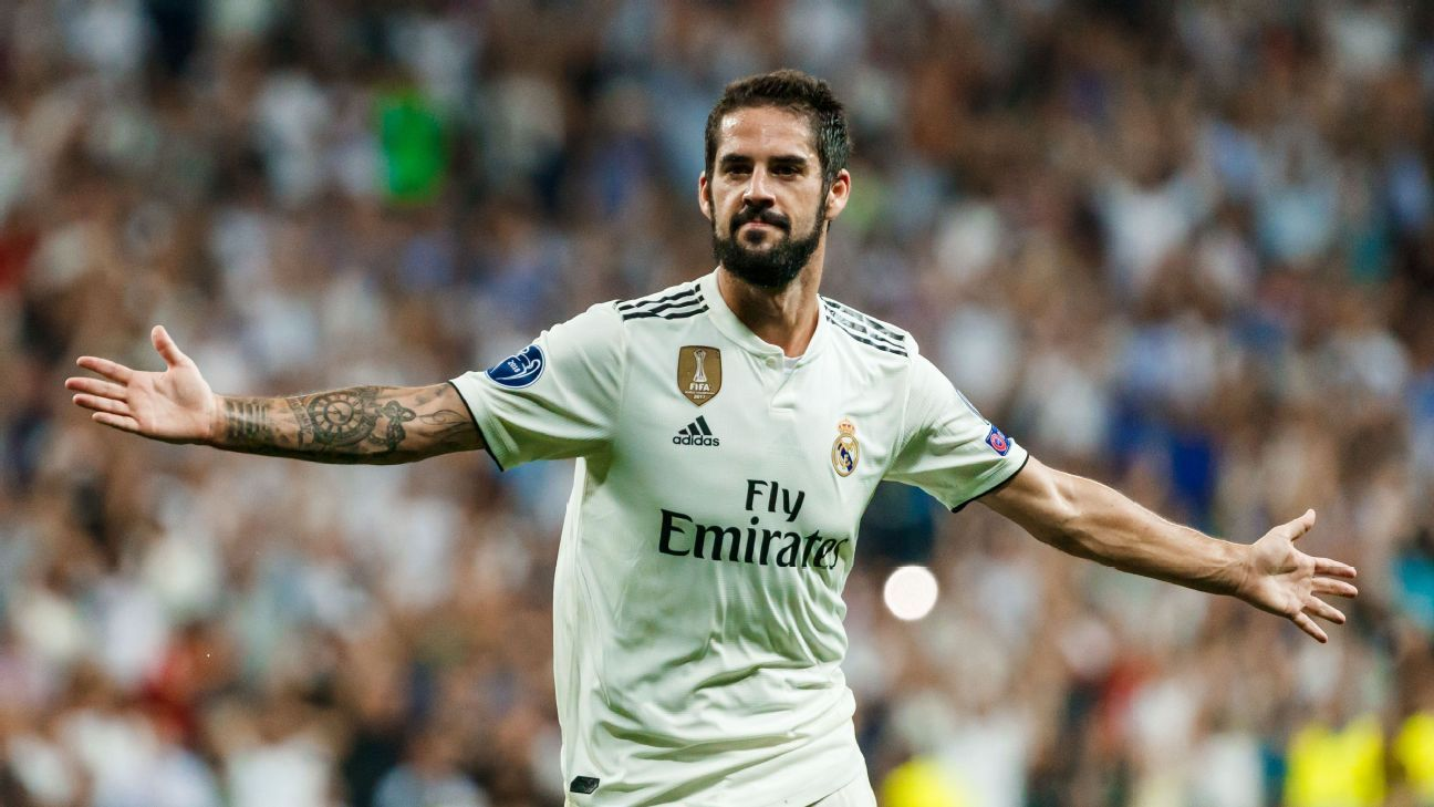 Real Madrid's budding superstar Isco will be out about a month after having an appendectomy.