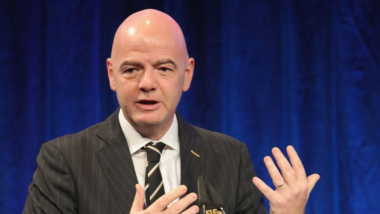 FIFA president Gianni Infantino is spearheading plans for two new FIFA competitions.