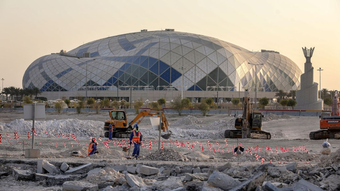 Amnesty International claims that workers at the Qatar's Lusail Stadium site have not been paid