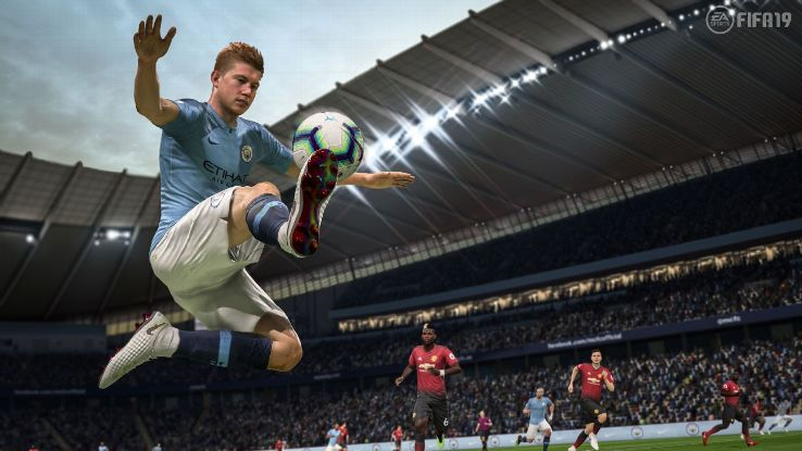 Changes to the touch and control mechanics means that your player is no longer assured of keeping possession. Unless it's Kevin De Bruyne, of course.