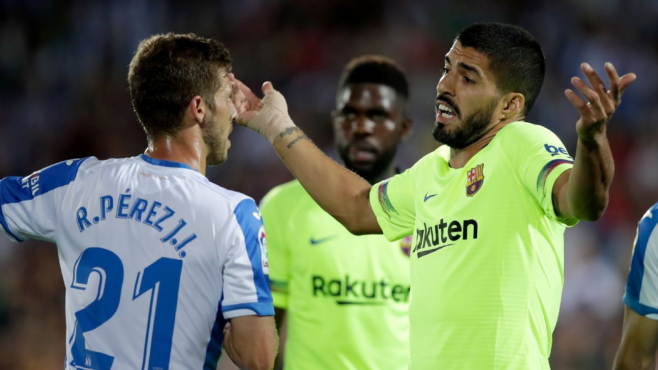 Barcelona rested some stars and woefully underperformed in Wednesday's defeat at bottom club Leganes.