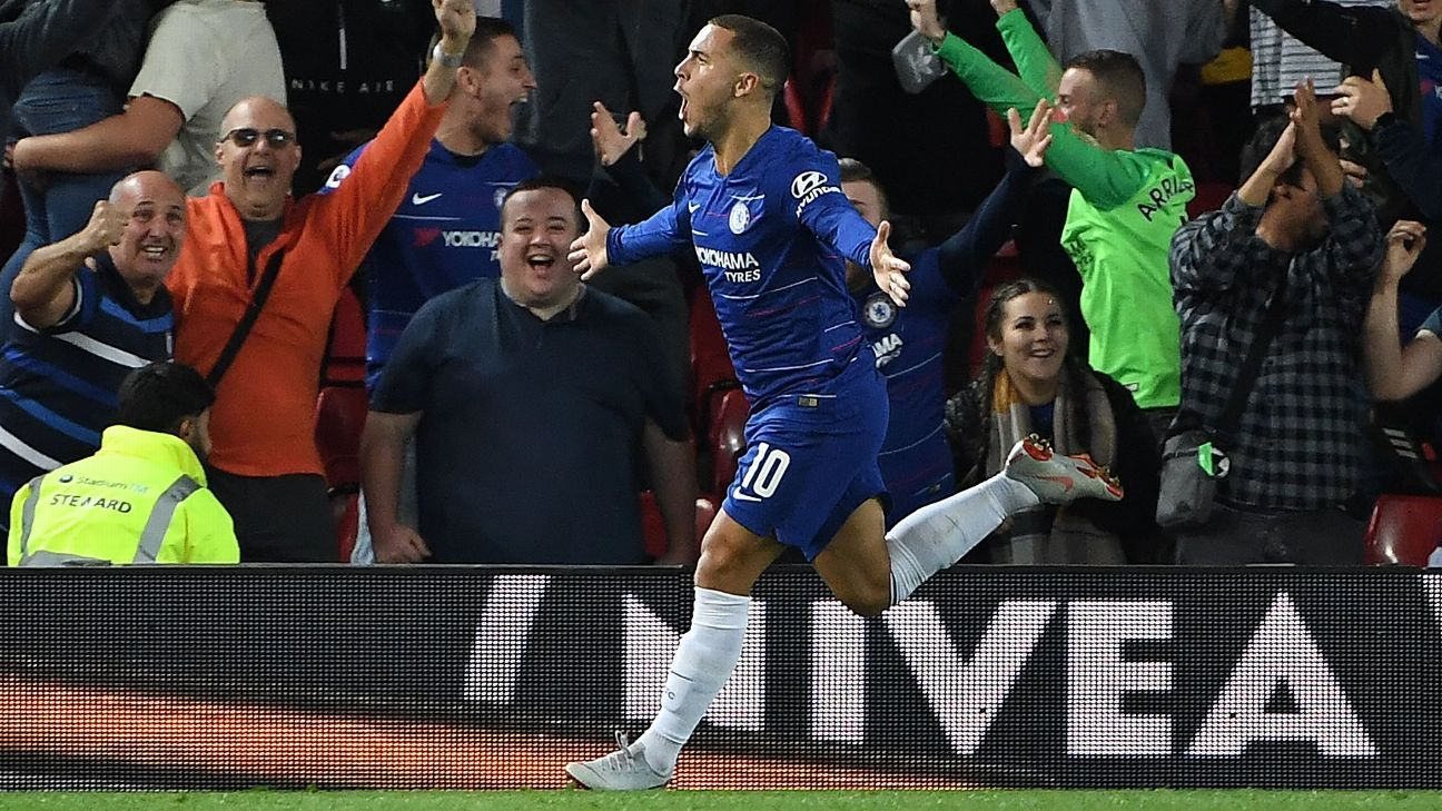 Eden Hazard's epic strike at Anfield ensured Chelsea would advance to the next round of the Carabao Cup.