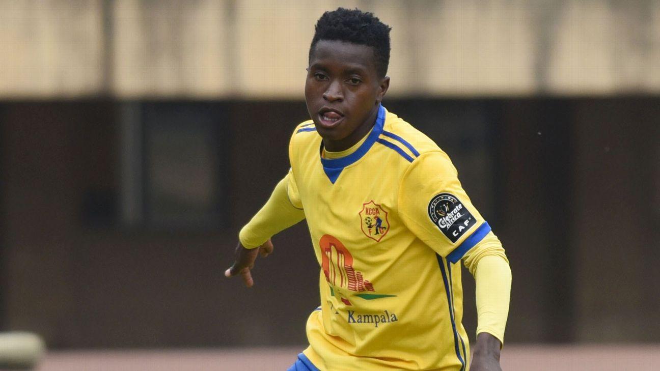 Allan Okello of KCCA FC & Uganda