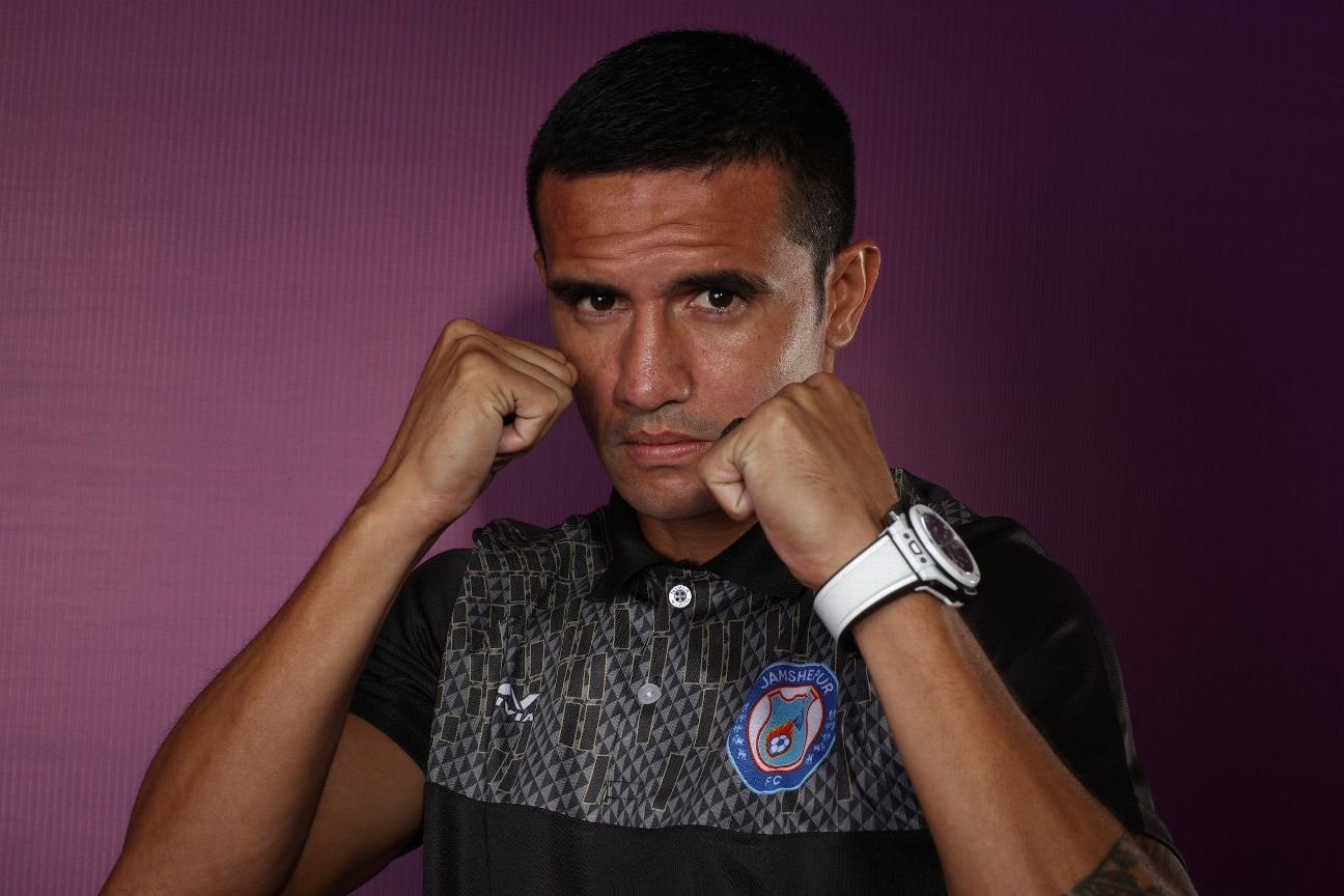Tim Cahill is the biggest name in the ISL this season.