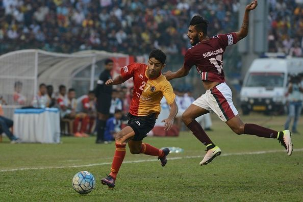 The fast and young Nikhil Poojari (left) fits the template of the new 'ideal ISL signing' to the T.
