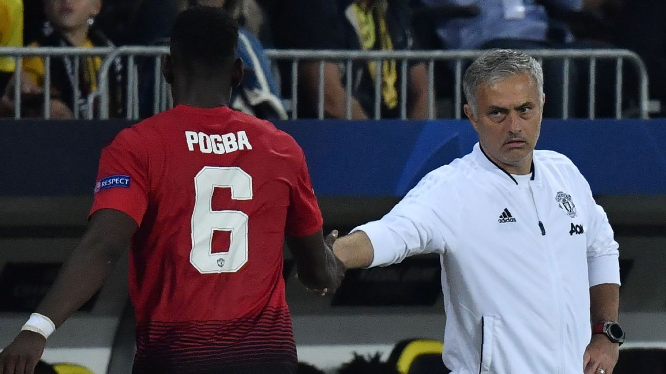 Paul Pogba was one of his Jose Mourinho's first signings as Man United manager in 2016.