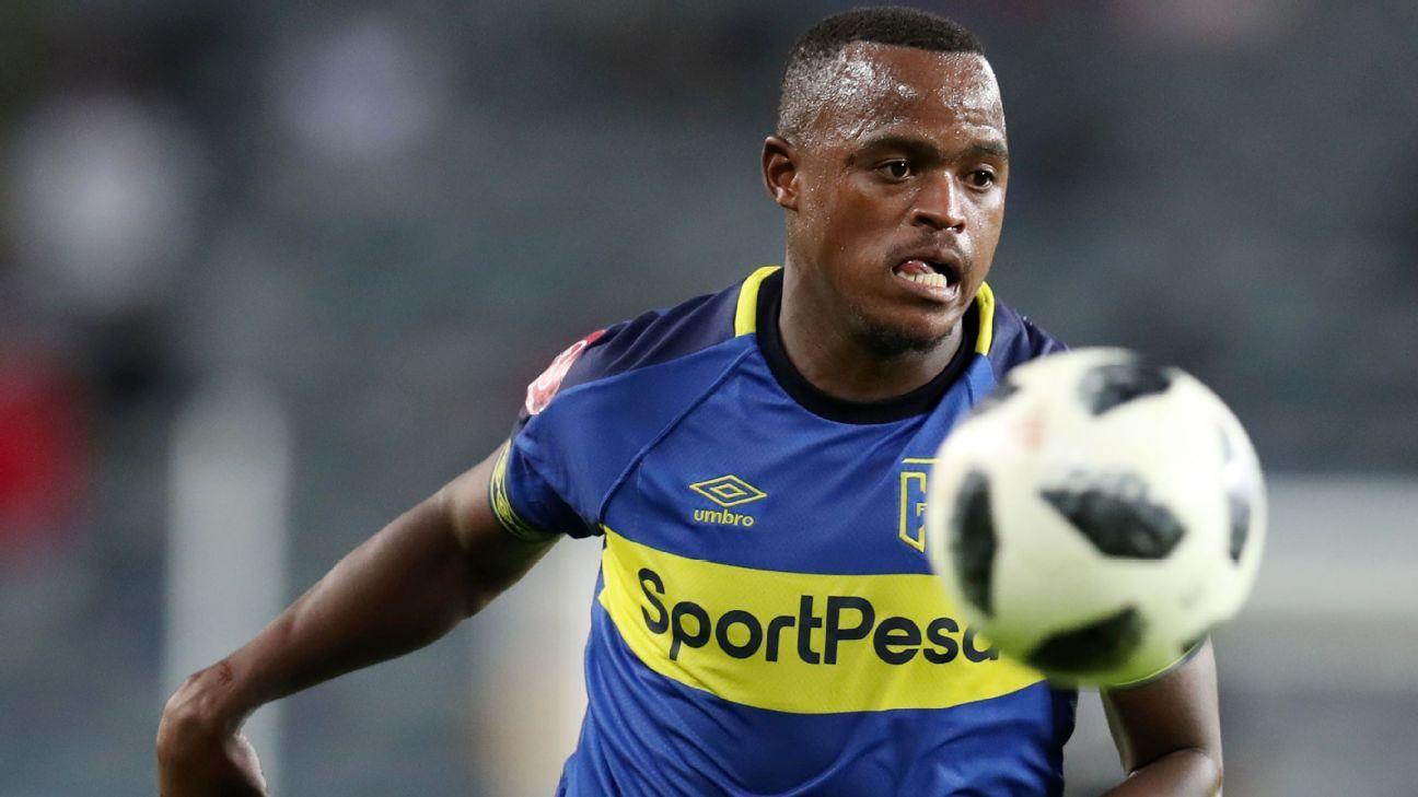 Ayanda Patosi of Cape Town City