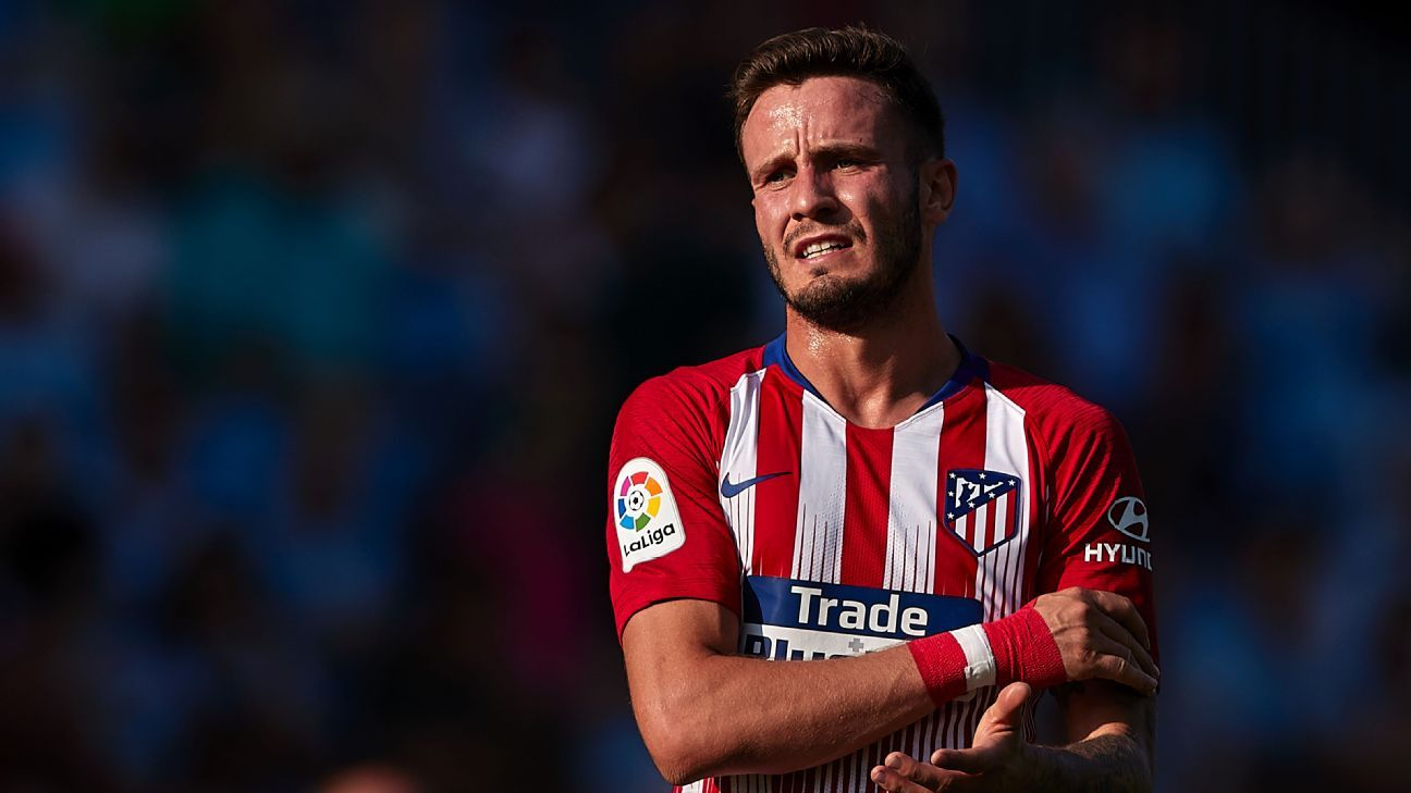 Saul Niguez is contracted to Atletico Madrid until 2026.